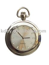 Antique Erotic Pocket Watch with Metal Keychain