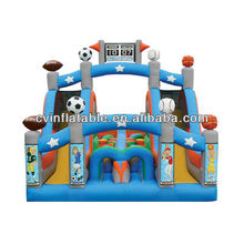 mini all star turbo rush inflatable obstacle course