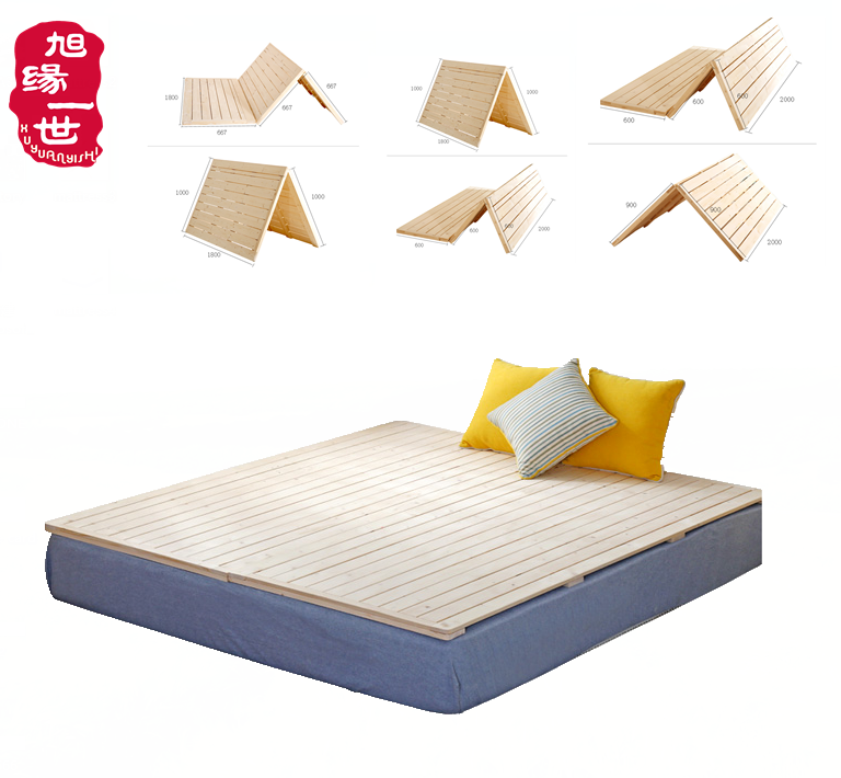 comfortable solid wood bedroom furniture wooden bed board mattress - Jozy Mattress | Jozy.net