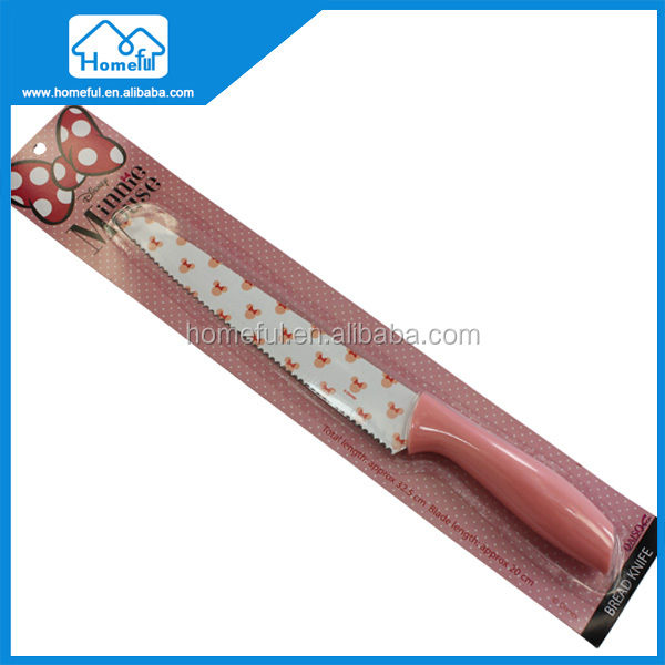 Stainless steel Children's Safety Kitchen Bread Knife