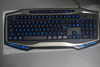 LED backlight changeable Multimedia gaming keyboard