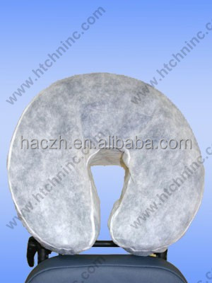 PP Spa Supplied PP Disposable Face Rest Cover,Non-woven face rest covers, Disposable White face rest cover