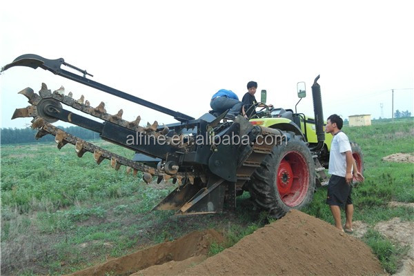 Factory directly sale trencher tractor implement