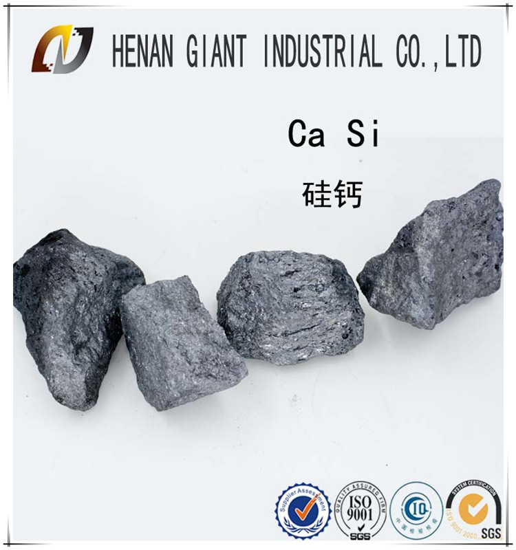 Alloy additive calcium silicon from china