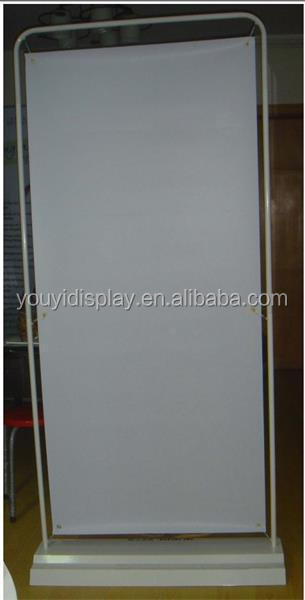 iron base spring picture frame folding screen