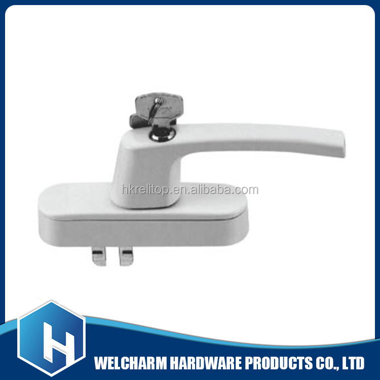 Good quality aluminium upvc sliding window handle lock