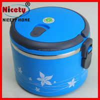 airtight double layer matel food storage container with lids pyrex plastic bento box
