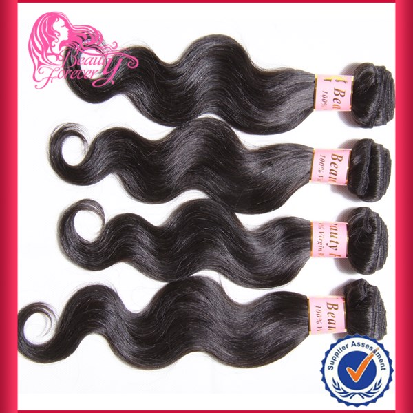 Hot Sale 2014 New Arrival 100% Brazilian Body Black Star Hair