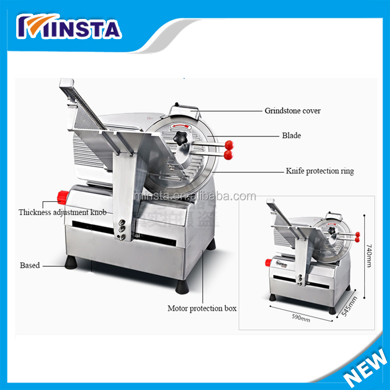 Full Automatic Meat Slicer / Automatic Frozen Meat Slicer