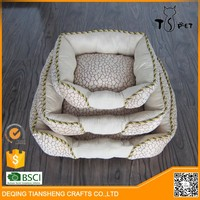 luxury and fashion small pet bed