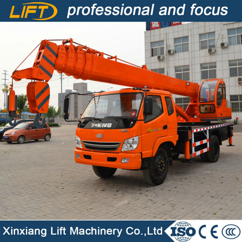 Factory price telescopic boom hydraulic truck crane 3.5t