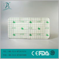 Free Sample Transparent and Waterproof wound film dressing