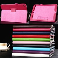 Wholesale Checkout New Stand PU Leather Cover Protective Case For Apple iPad Air 2