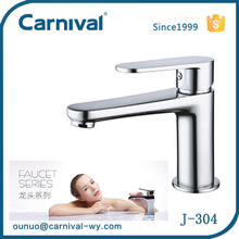 China factory bathroom hot cold water mixer tap J-304