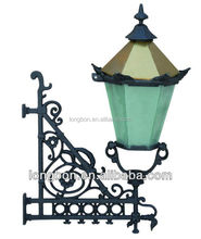 Top-selling modern wrought iron out door lamp