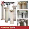 roman corinthian decorative antique stone columns