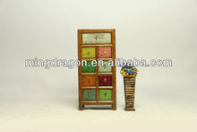 2014 HOT SALE FURNITURE ,colorful cabinet in Chinese antique style
