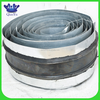 2015 New Design steel edge rubber water stop for expansion joint