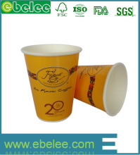 fanshionable printed paper coffee cups with lids