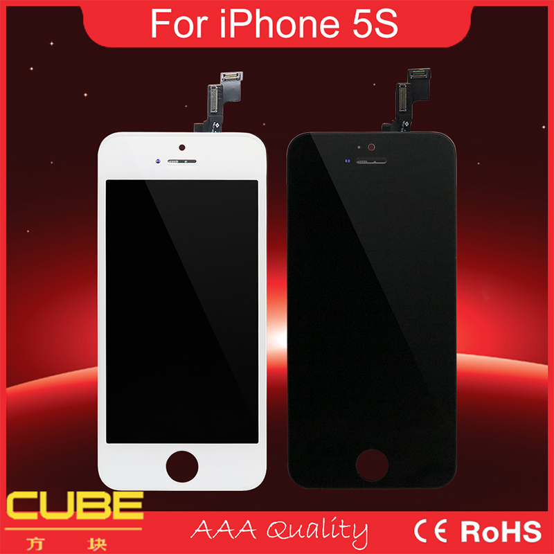 Wholesale Back Light LCD Display Repair Parts For iPhone 5S Backlight 4.0''