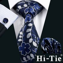 Hi-Tie B-1160 New Fashion Accessories bridegroom wedding tie and pocket square