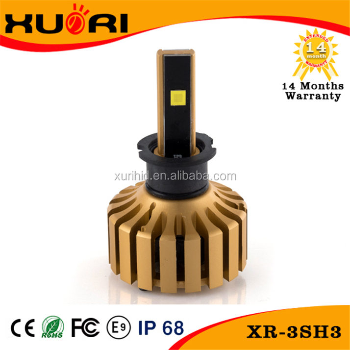 Hot Sale Steady Performance High Low Beam Highly Secure Car Xenon H3 6V 30W Halogen Bulb 2800Lumen LED headlight