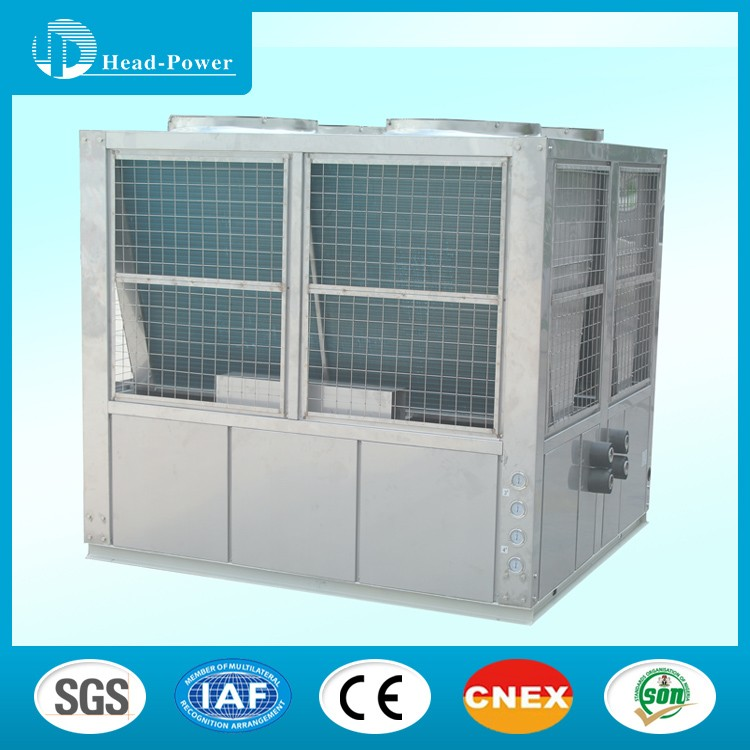 Industrial water chiller with stainless steel plate heat exchanger