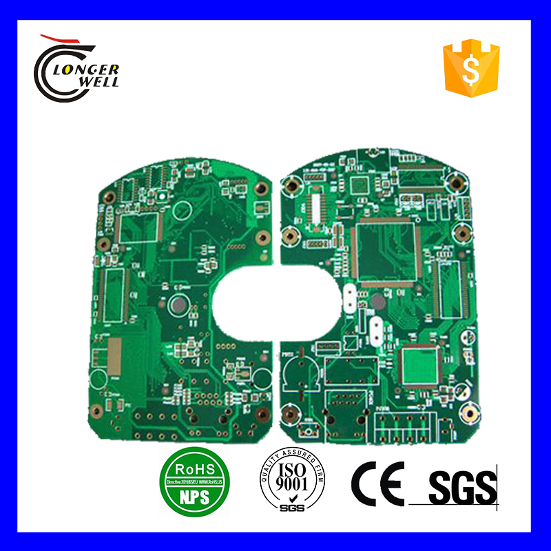 Rigid electric pcb assembly for induction cooker controller