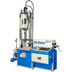 vertical injection toggle moulding machine