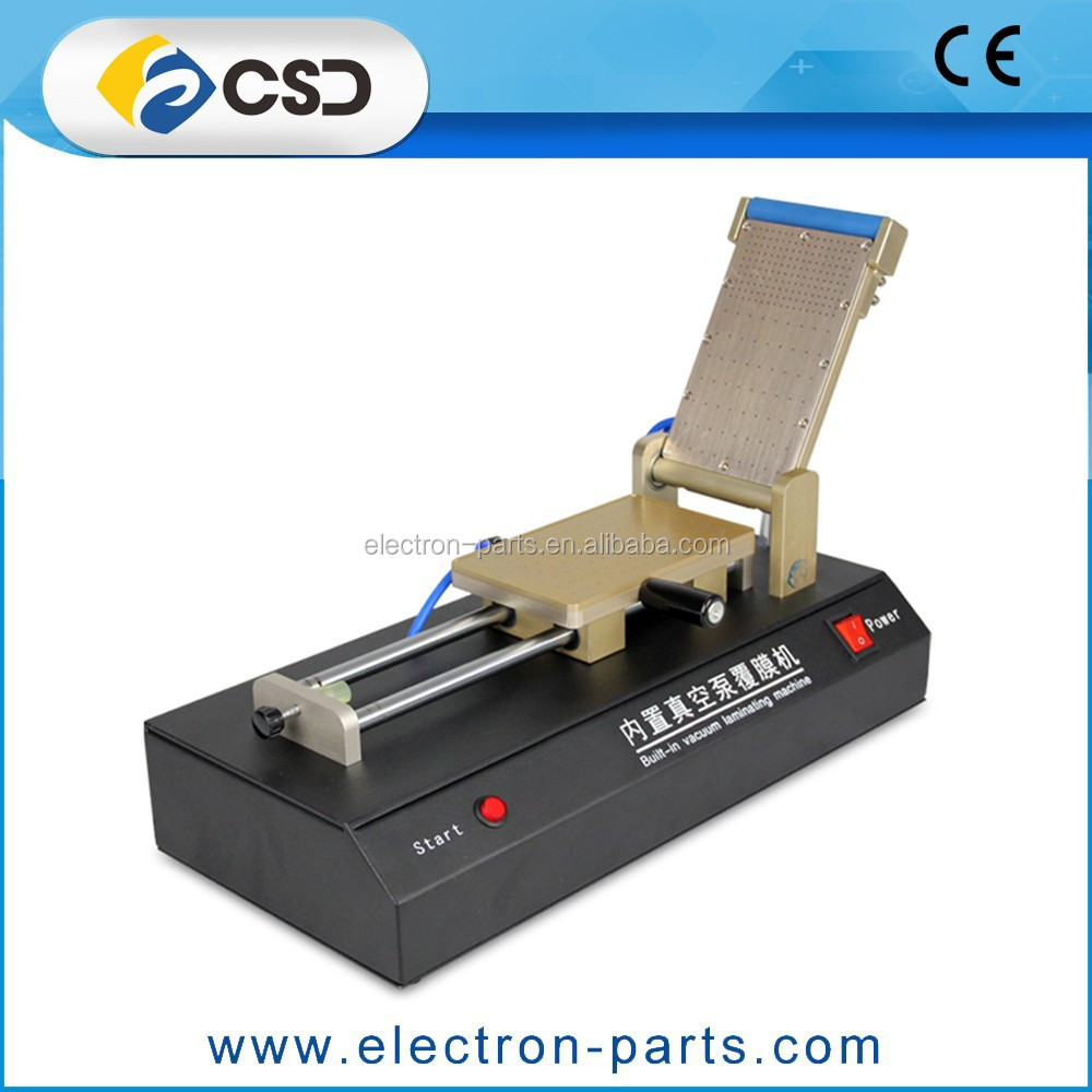 oca lcd screen vacuum laminating machine refurbish repair lamination machine