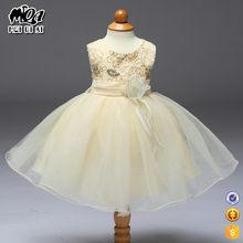 Fashion design small girls baby occasion dress for weddings birthday party L1832XZ