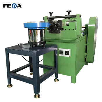 FEDA automatic bolts thread rods machine bolt and nut tapping machine threading dies