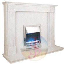 New design water heating fireplace
