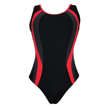 woman competition sportswear swimming suit .