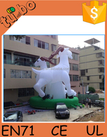 Hot Sales giant inflatable cartoon characters, giant inflatable sheep for advertising