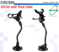 Universal mobile phone stand for cell phone, mobile phone holder in car, car holder mobile phone