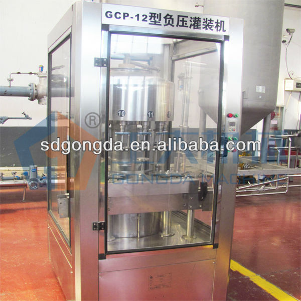 vinegar bottling machine1000bph