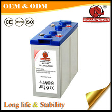 long service life renewable energy 2V 300AH used vrla telecom battery