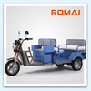 Chinese supplier 48V 650W motorized tricycle for passanger for Genmany