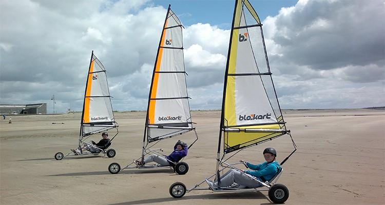 Land sailing kits