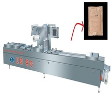 Order Type Tray Forming Skin Pack Vacuum Packing Machine For Beef Steak