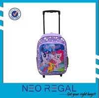 promotional Kids School Trolley Bag