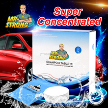 Eco-friendly car wash shampoo tablets with factory price