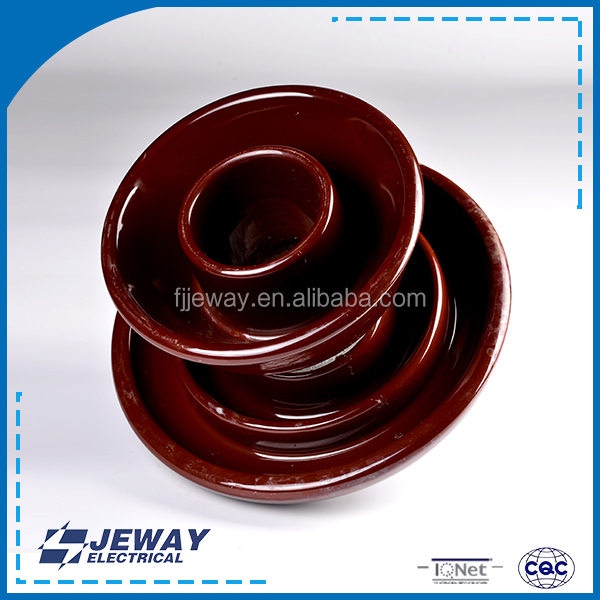 56-4porcelain electrical High strength outdoor and indoor electrical conductor ceramic insulator