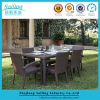 Sailing high end roots rattan wicker rustic restaurant furniture
