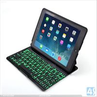 For ipad air bluetooth keyboard with 7 back lights P-APPIPD5PUKB012