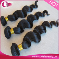 Cheap Wholesale baby Curly Unprocessed Virgin Peruvian Hair weave