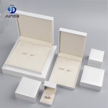 Wholesale Custom Gray box for jewelry, jewelry packaging box,leather jewerly box