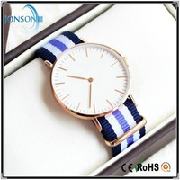Minimalist 6mm ultra thin blank your logo custom watches minimal watches