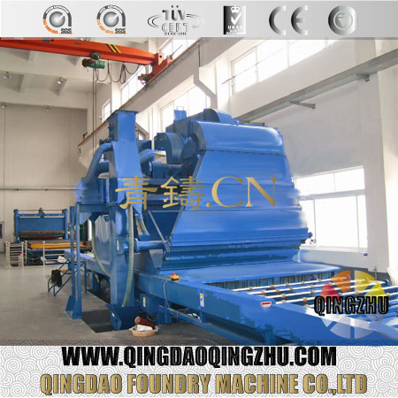 CE Approved Saw Blade Shot Blasting Machine